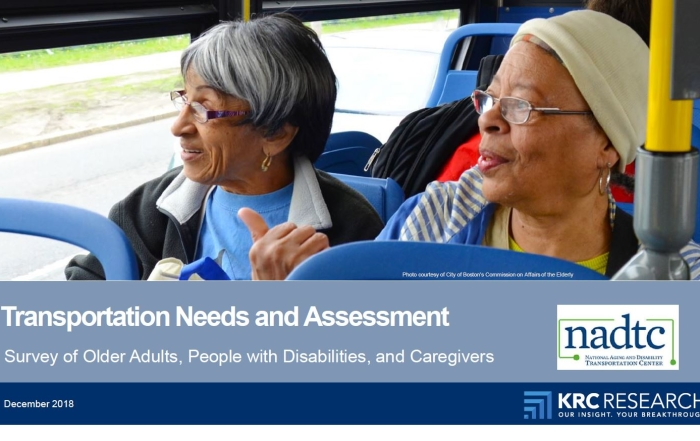 Transportation Needs and Assessment