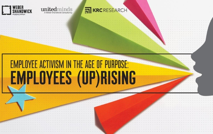 Employee Activism in the Age of Purpose: Employees (UP)Rising